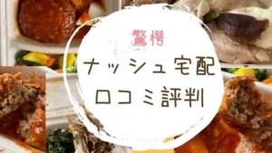 ナッシュ宅配弁当口コミ評判